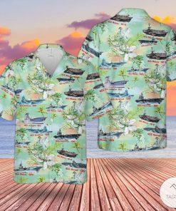 WWII U.S. Navy Aircraft Hawaiian Shirt, Beach Shorts