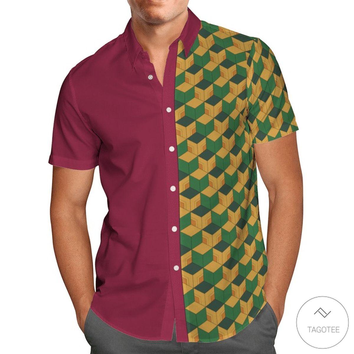 Water Hashira Giyuu Tomioka Hawaiian Shirtz