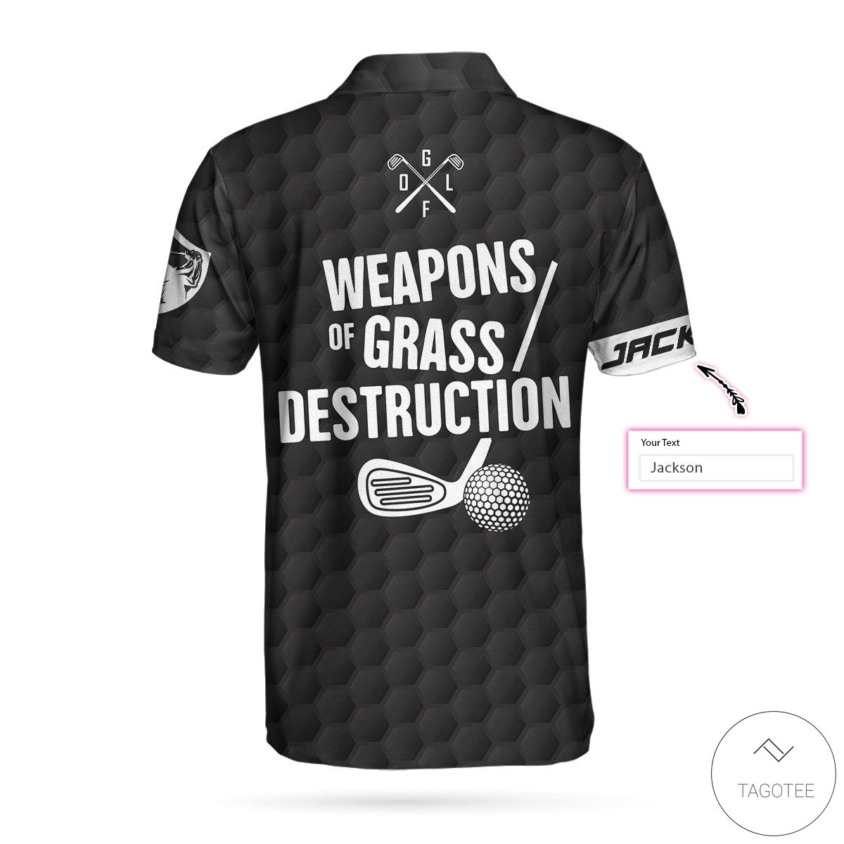 Where To Buy Weapons Of Grass Destruction Golf Polo Shirt