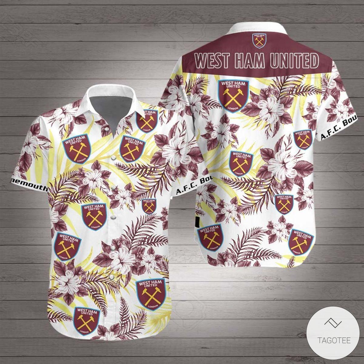 West Ham United Hawaiian Shirt