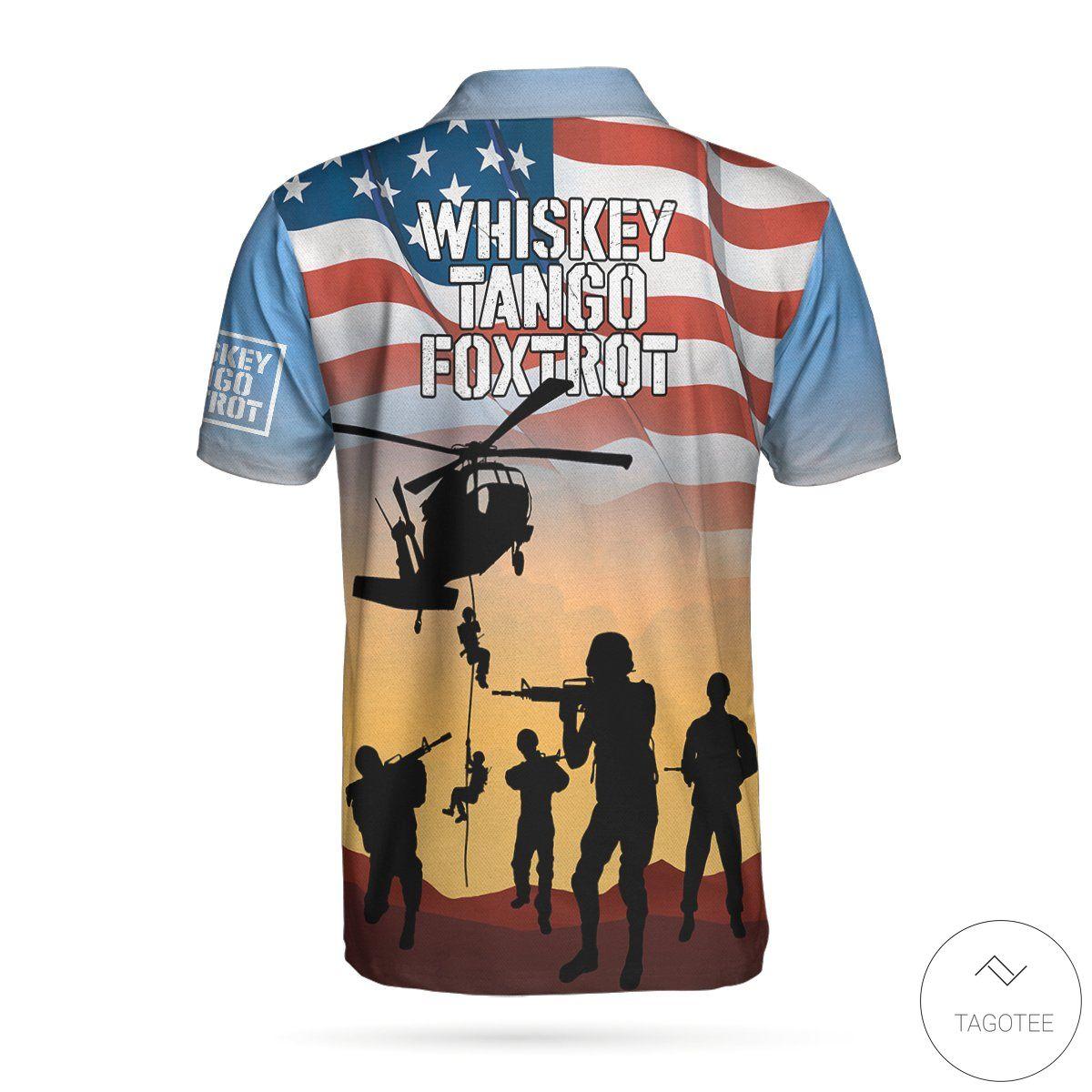 Whiskey Tango Foxtrot Military Polo Shirtz