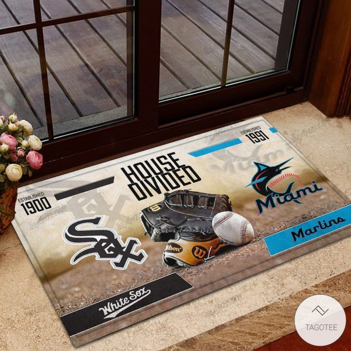 White Sox House Divided Miami Marlins Doormat