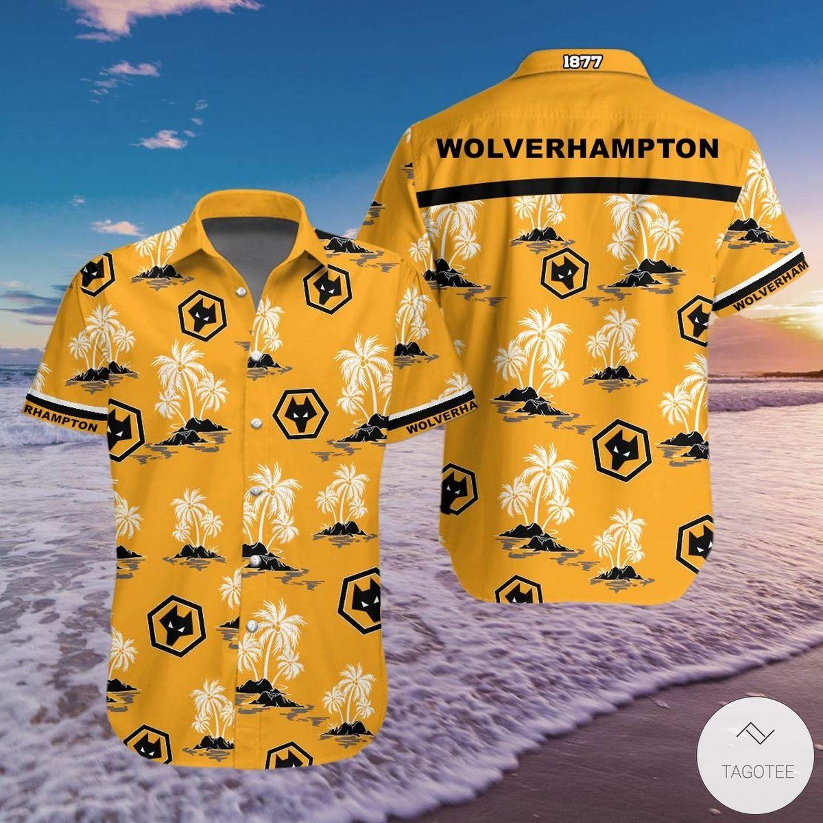 Wolvehampton F.C Hawaiian Shirt