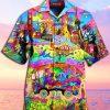 Wonders of America Hippie Hawaiian Shirt