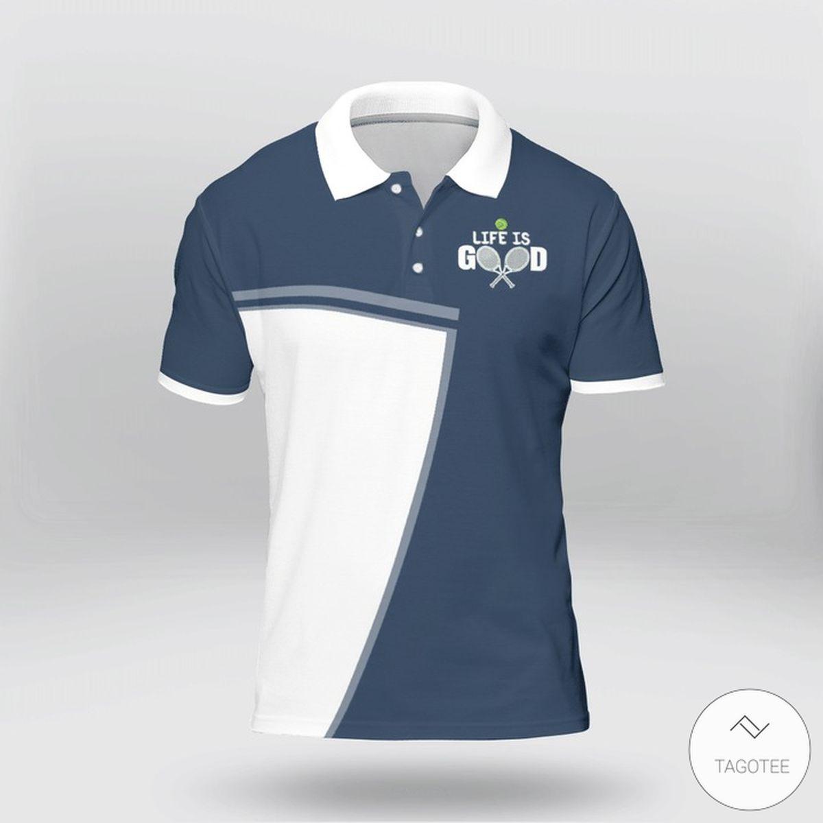 World's Okayest Tennis Player Polo Shirt