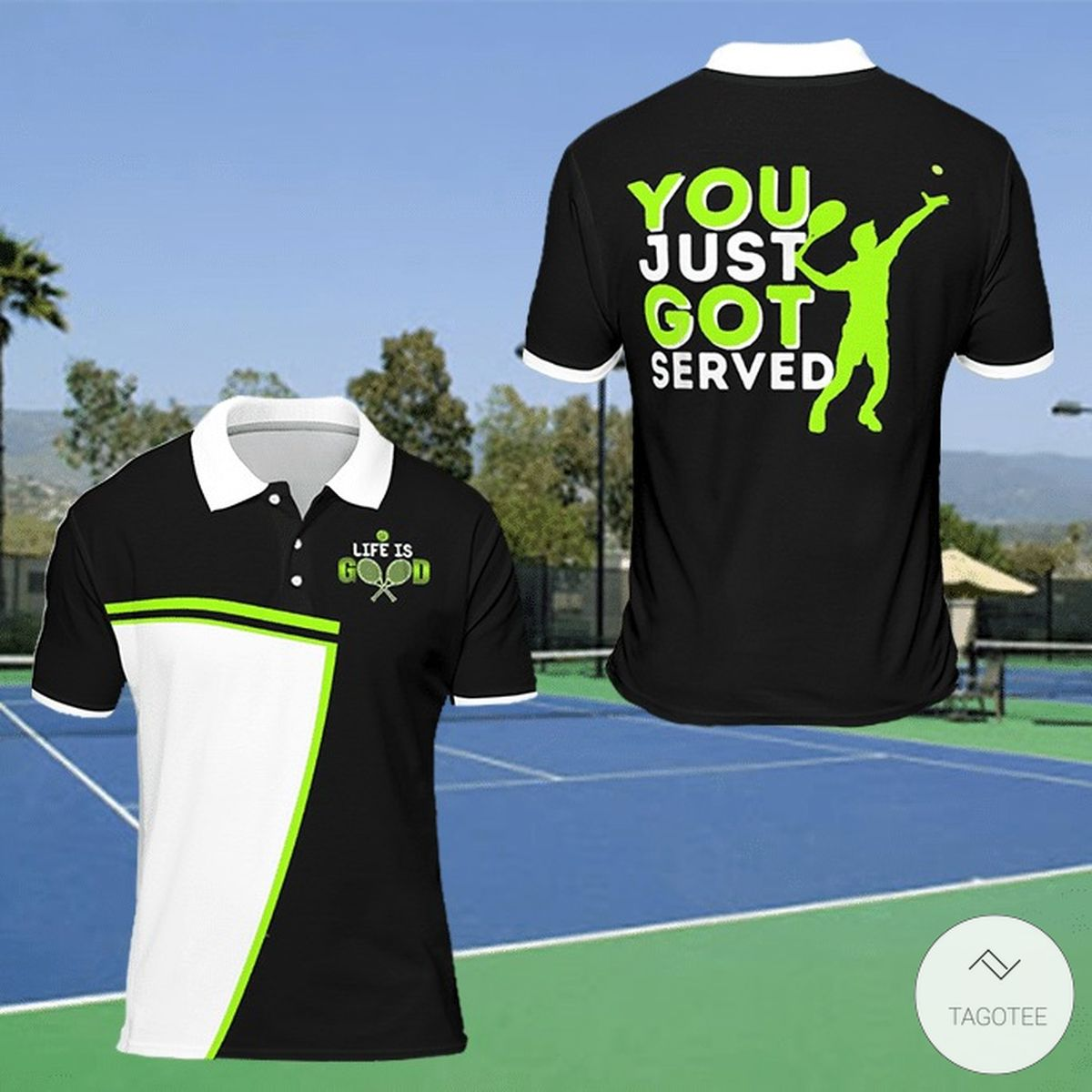 You Just Got Served Polo Shirt