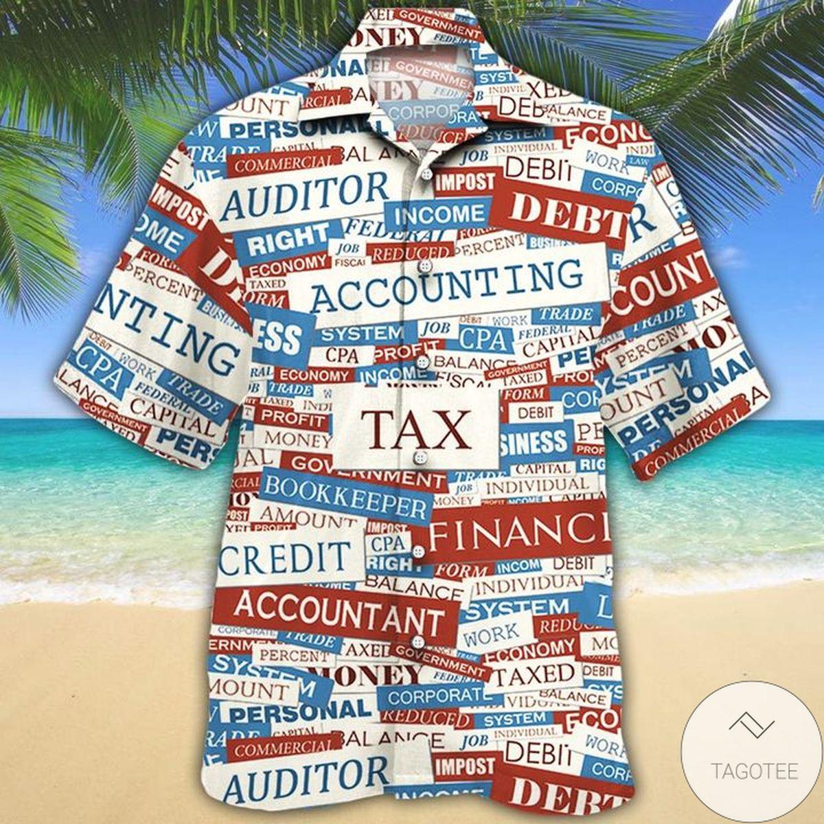 Accounting Hawaiian Shirt