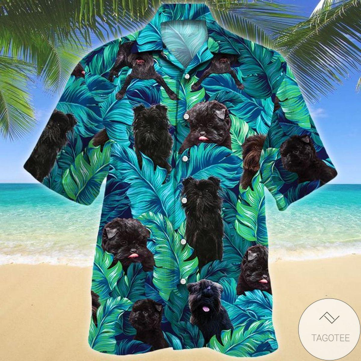 Great Affenpinscher Dog Lovers Hawaiian Shirt