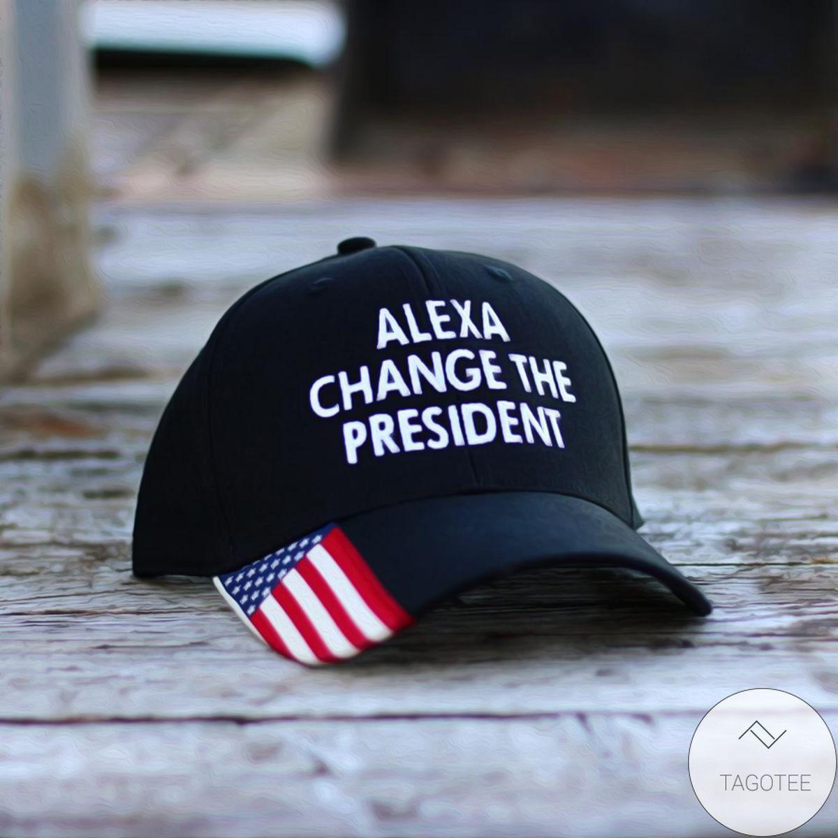 Alexa Change The President Cap