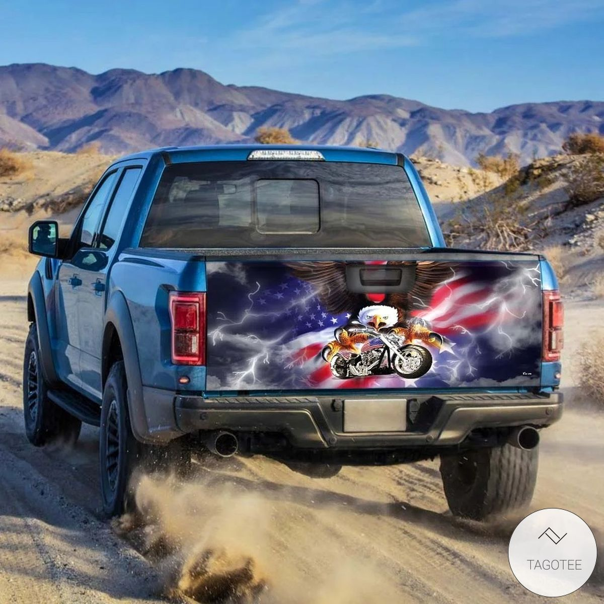 American Eagle Motorcycle Tailgate Wrapz