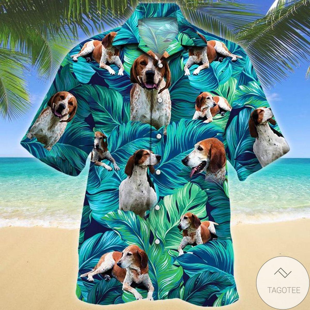 Top Selling American English Coonhound Dog Lovers Hawaiian Shirt