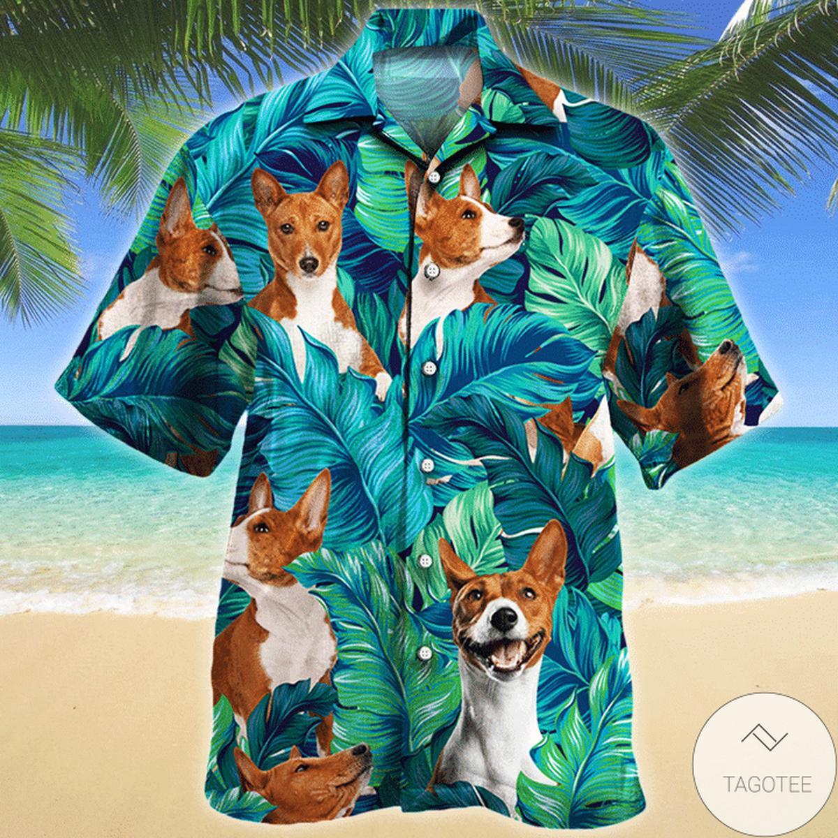 Basenji Dog Lovers Hawaiian Shirt