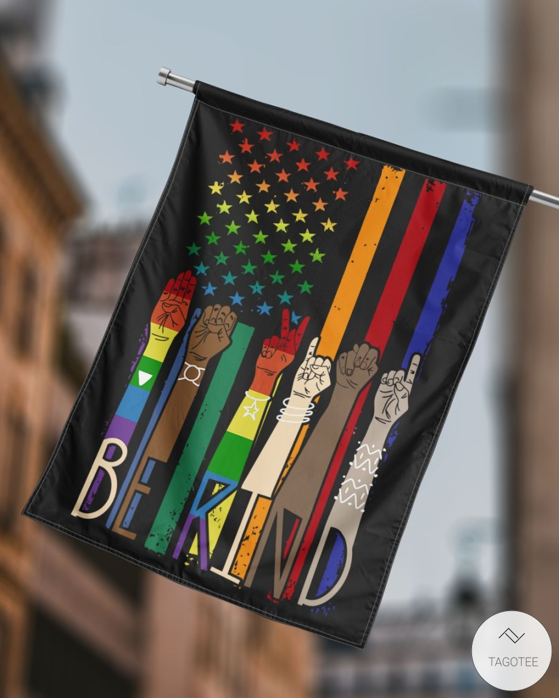 Be Kind House Flagsz
