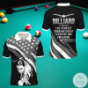 Billiard Definition The Perfect Combination Of Exercise And Swearing Polo Shirt