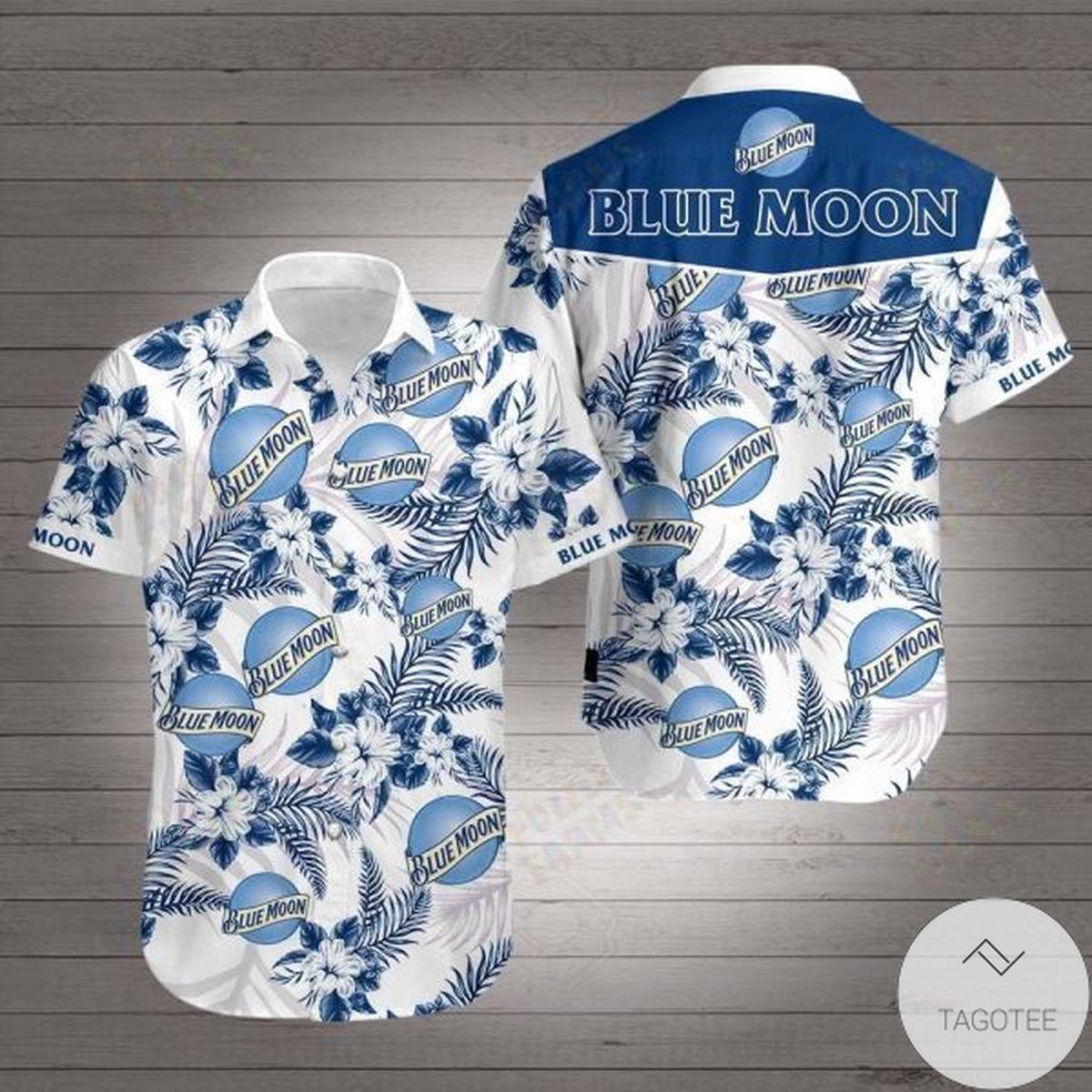 Blue Moon Hawaiian Shirt