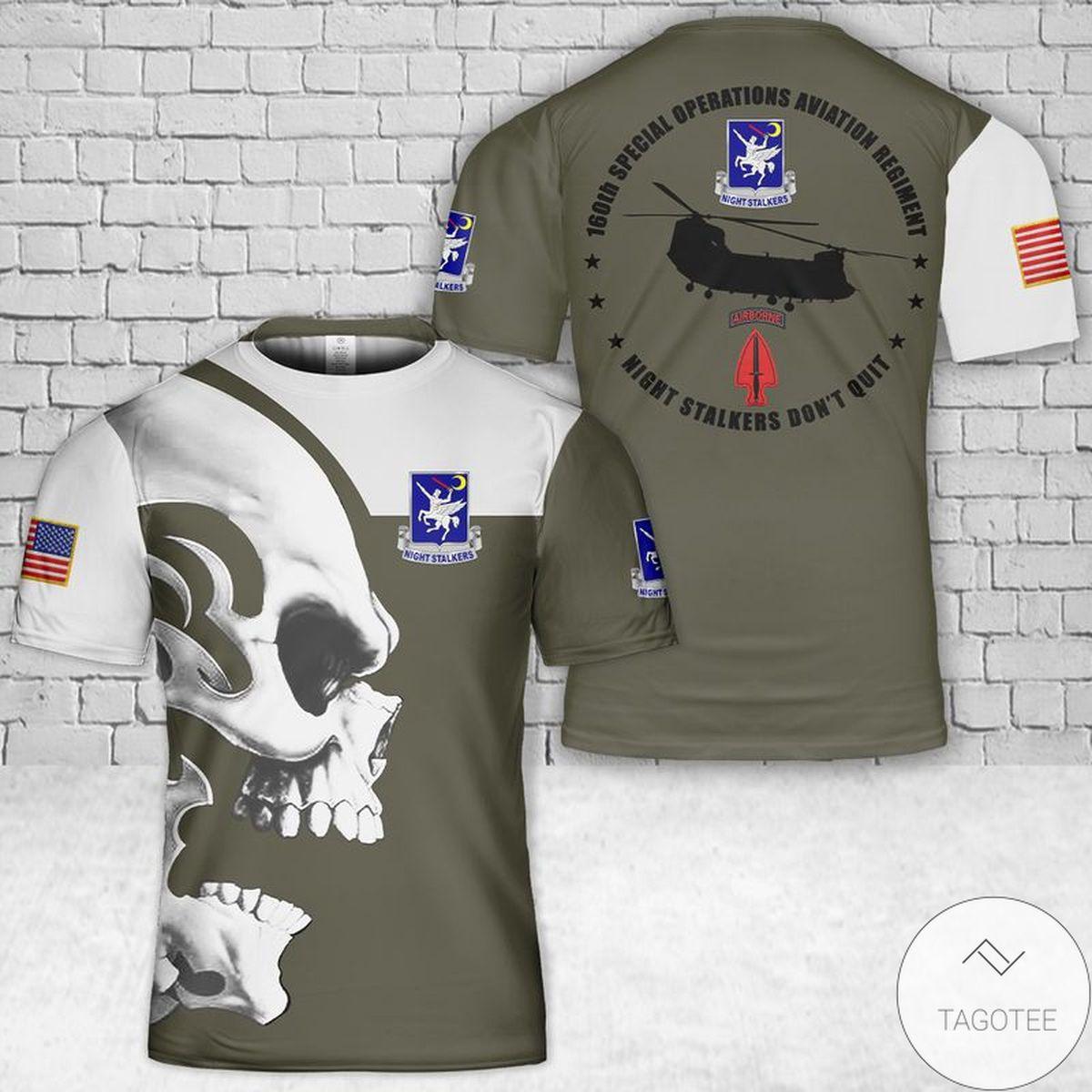 Boeing CH-47 Chinook 3D T-Shirt