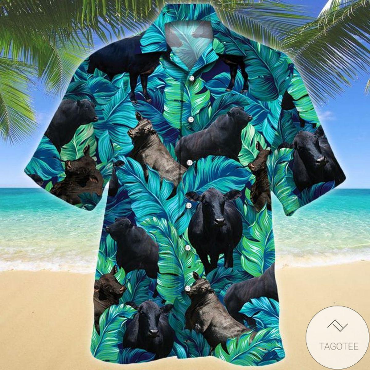 Brangus Cattle Lovers Hawaiian Shirt