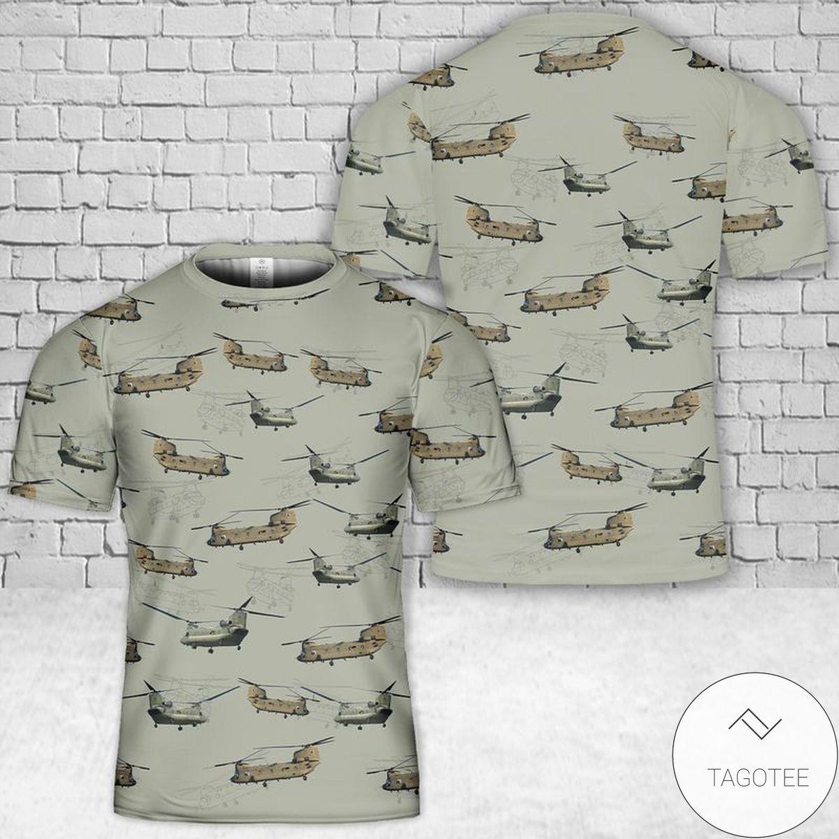 CH-47 Chinook 3D T-Shirt