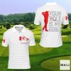 Canada Your Hole Is My Goal Golf Polo Shirtx
