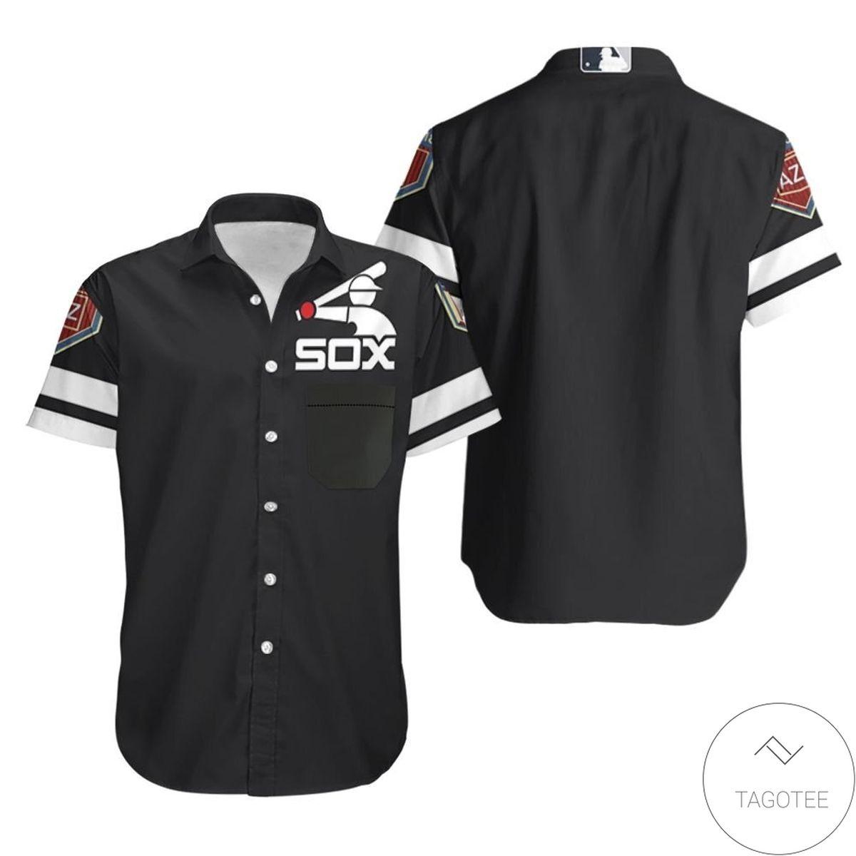 Chicago White Sox Spring Training Team Black 2019 Jersey Inspired Style Hawaiian Shirt