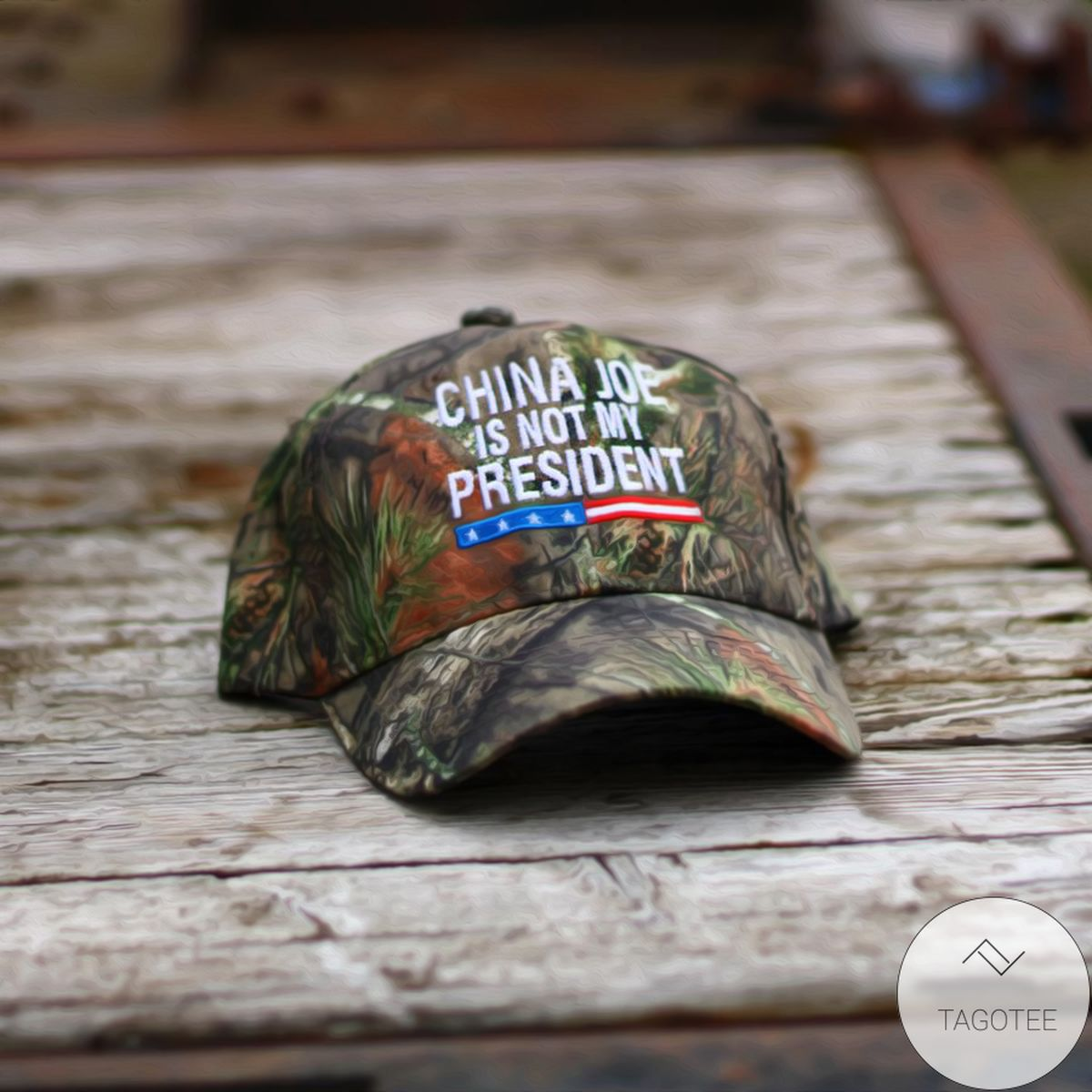 China Joe Is Not My President Camouflage Classic Cap