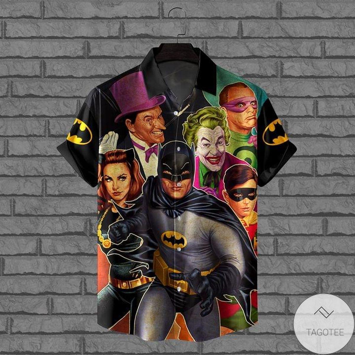 Dc Comics Superheroes Hawaiian Shirt
