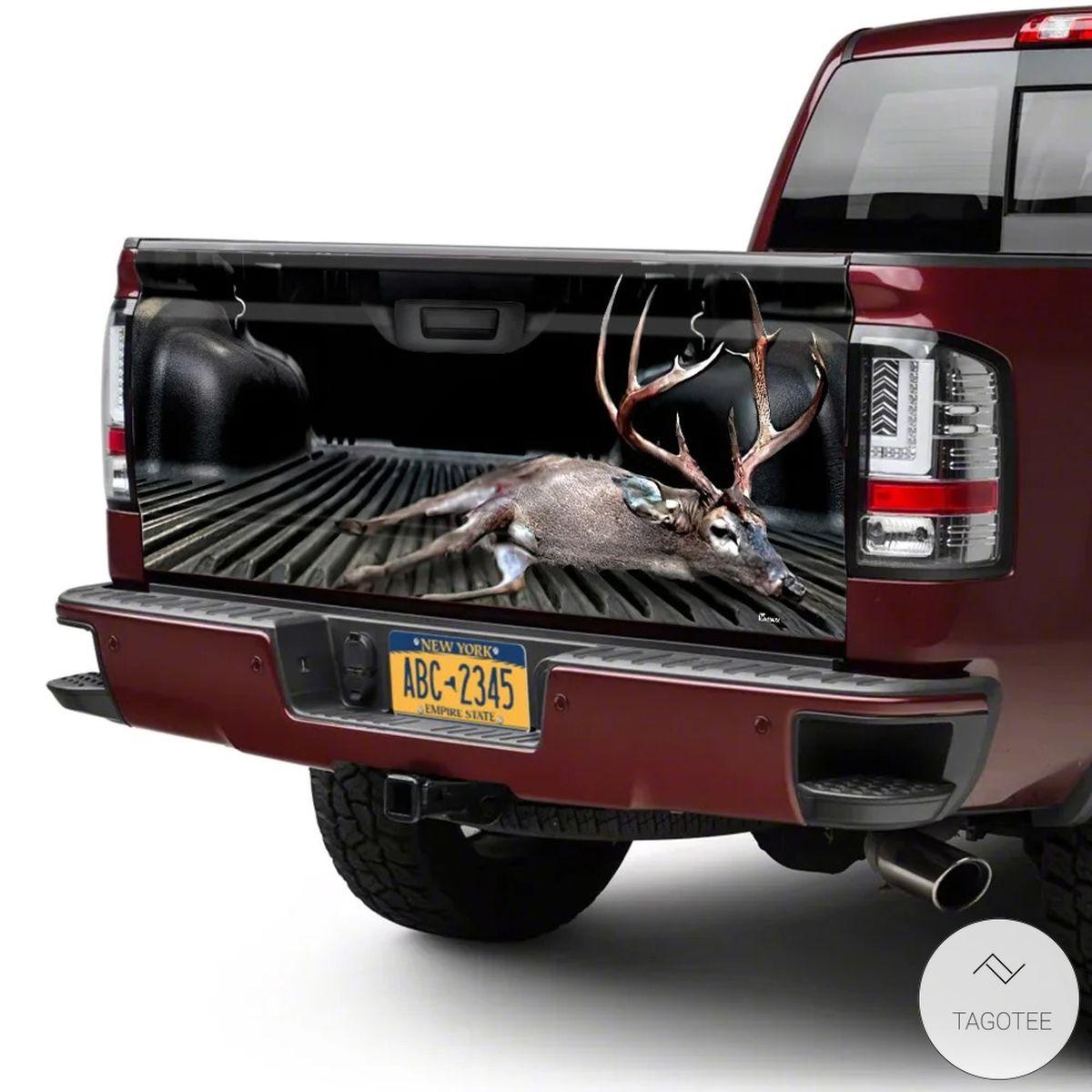 Deer Hunting Tailgate Wrapc