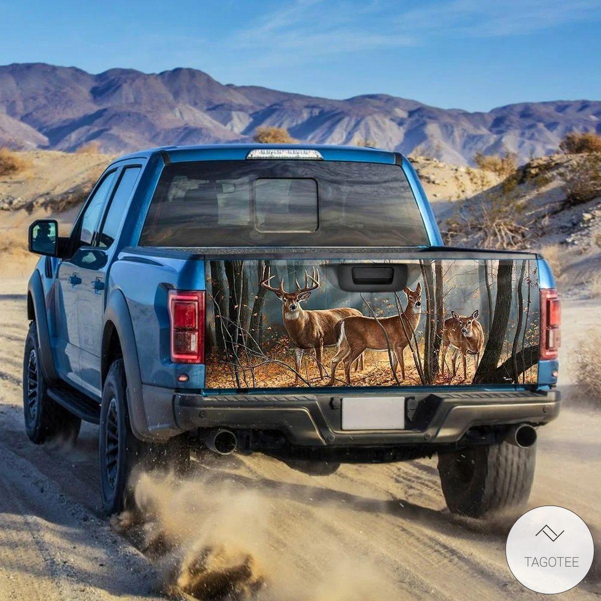 Deer Truck Tailgate Wrapz