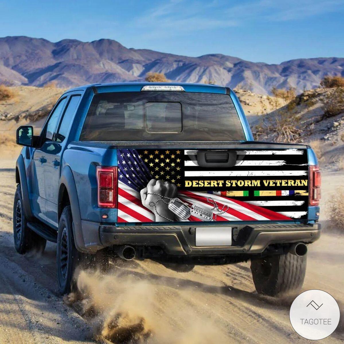 Desert Storm Veteran Tailgate Wrapz