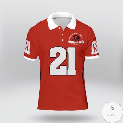 Eat Sleep Block Repeat American Football Polo Shirtz