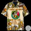 Fishing And Beer Hawaiian Shirt, Beach Shorts