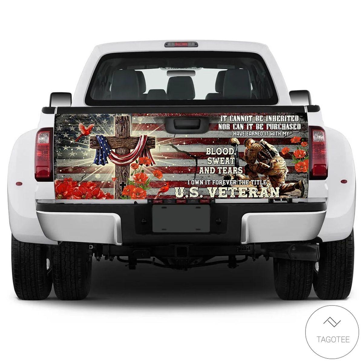 Forever The Title Veteran Truck Tailgate Wrapc