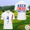 France Back Nines Matter Golf Polo Shirt
