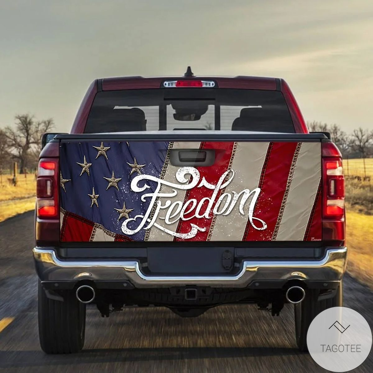 Freedom Truck Tailgate Wrap