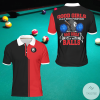 Good Girls Play With PomPoms Bad Girls Play With Balls Billiard Polo Shirt