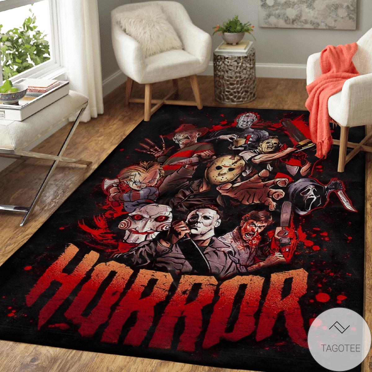 Horror Popular Killer Rug