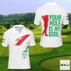 Hungary Hole Is My Goal Golf Polo Shirt