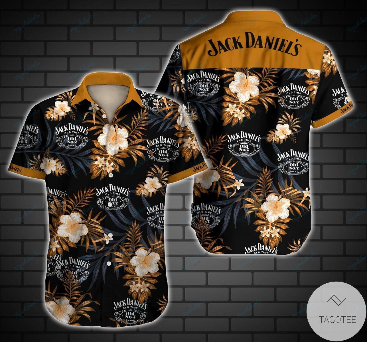Top Selling Jack Daniel'S Hawaiian Shirt