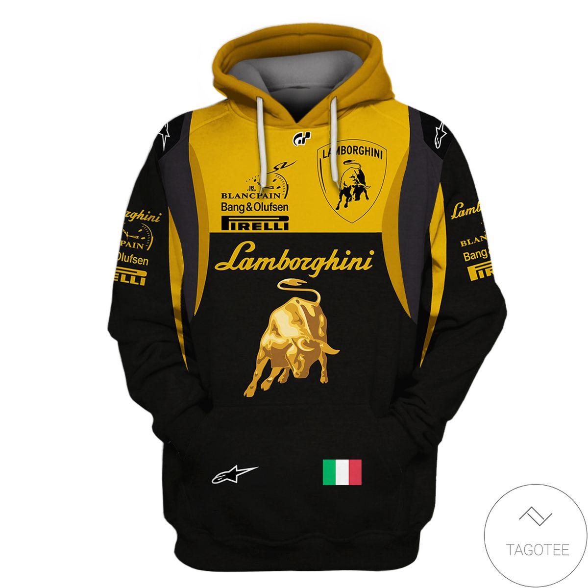 Drop Shipping Lamborghini Team Custom 3D Hoodie