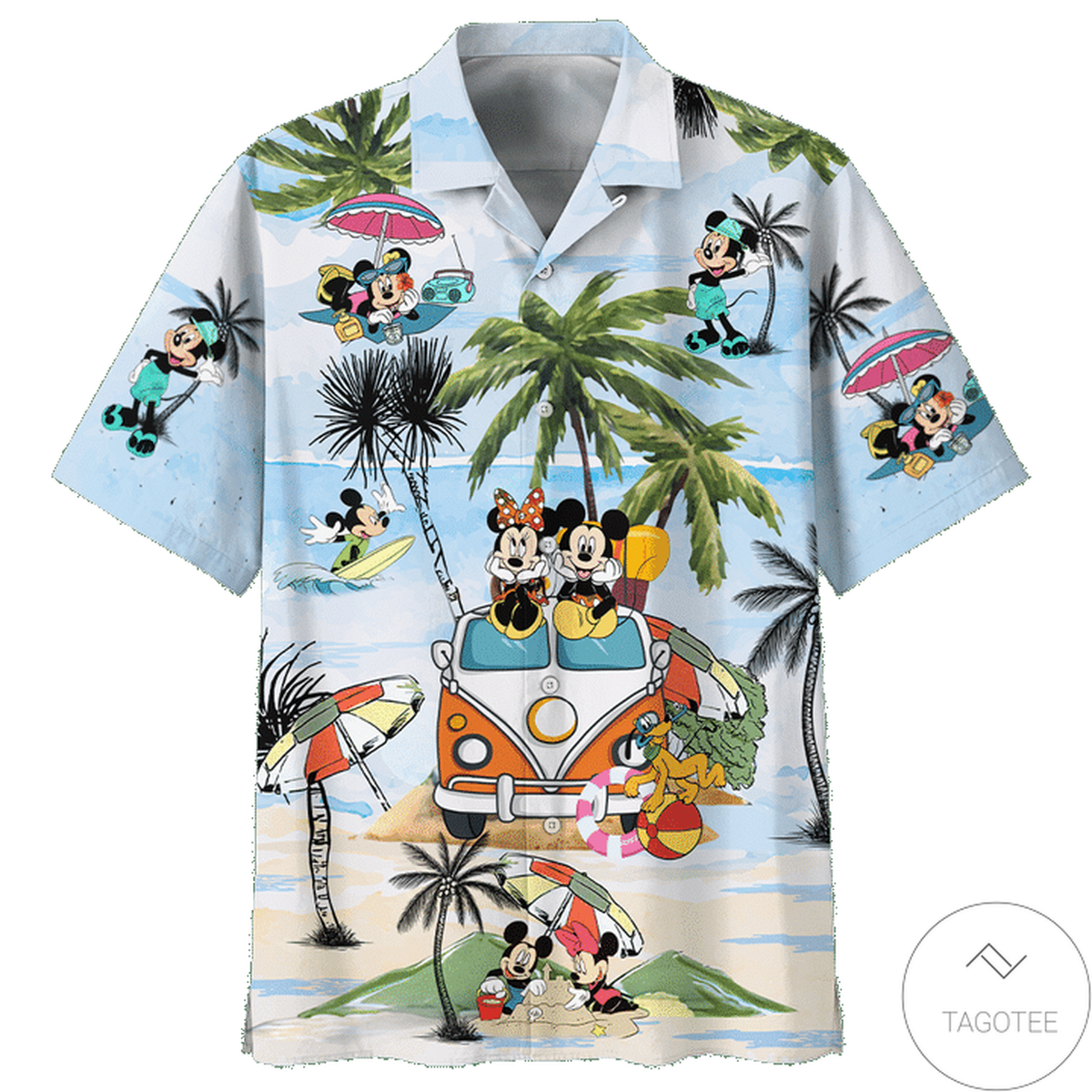 Perfect Mickey Mouse Beach Vacation Summer Time Hawaiian Shirt