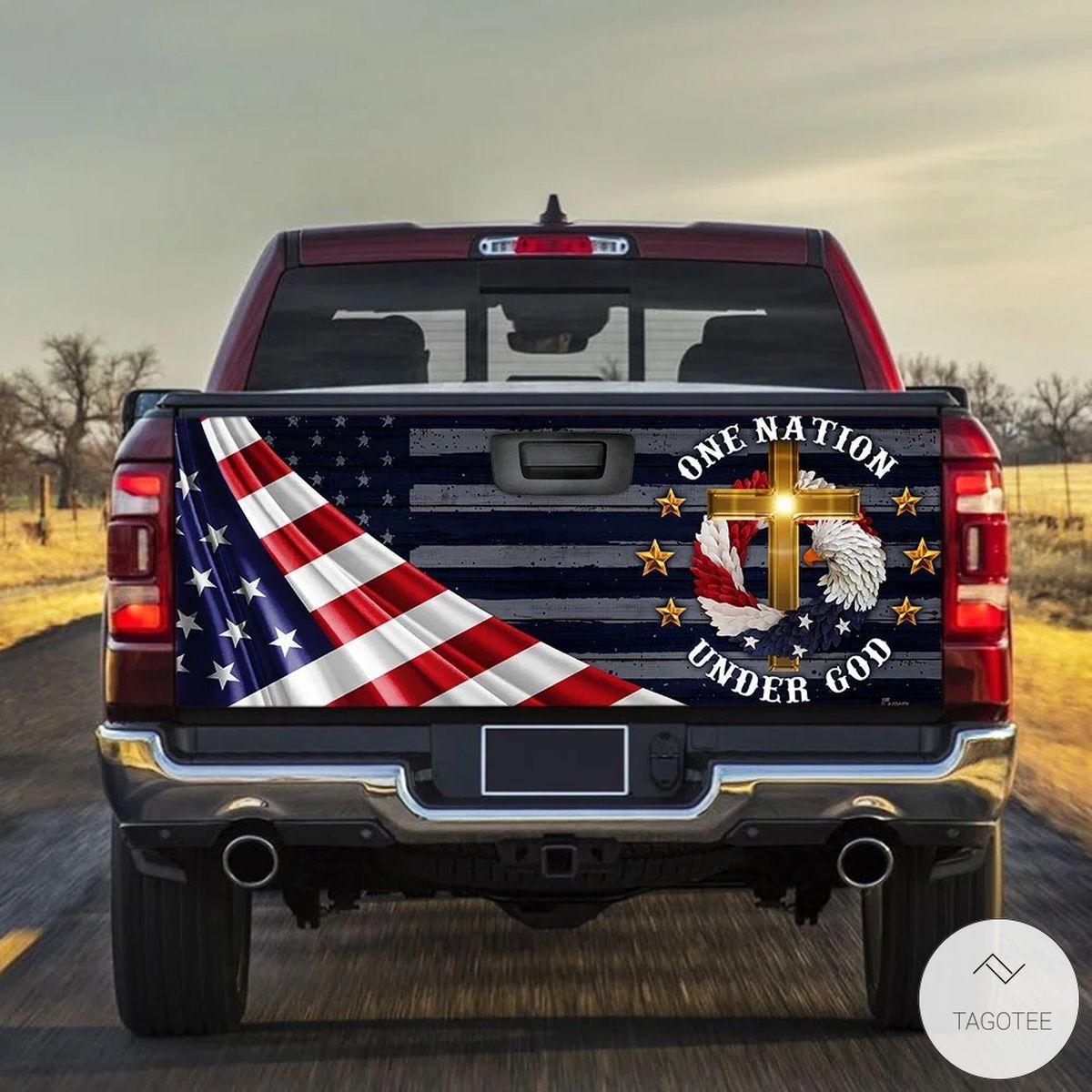 One Nation Under God Tailgate Wrap