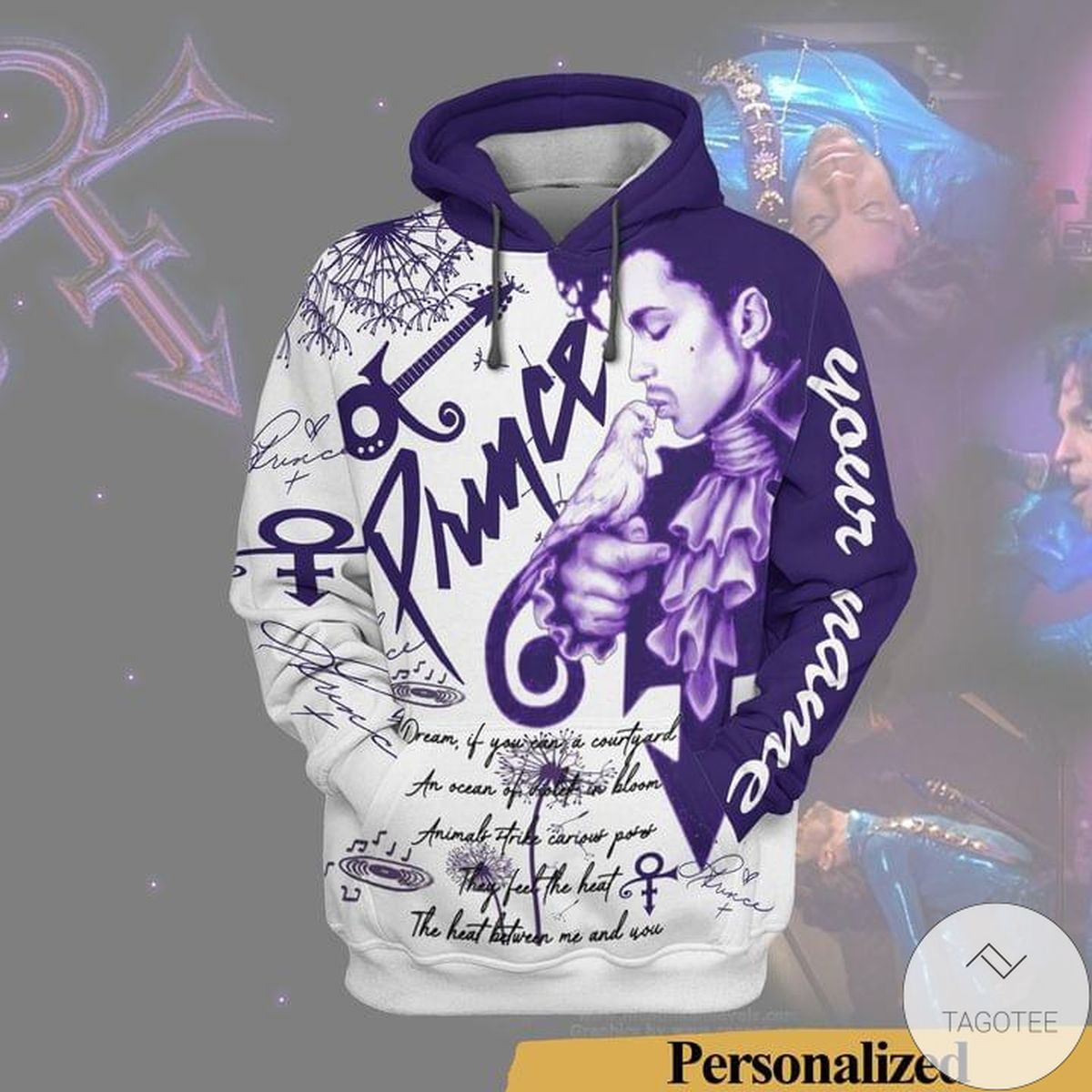 Personalized Prince When Doves Cry 3D Hoodie