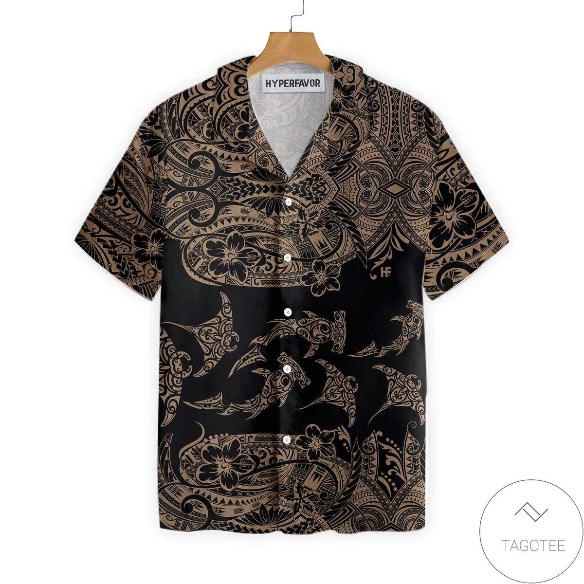 Polynesian Pattern Hawaiian Shirt
