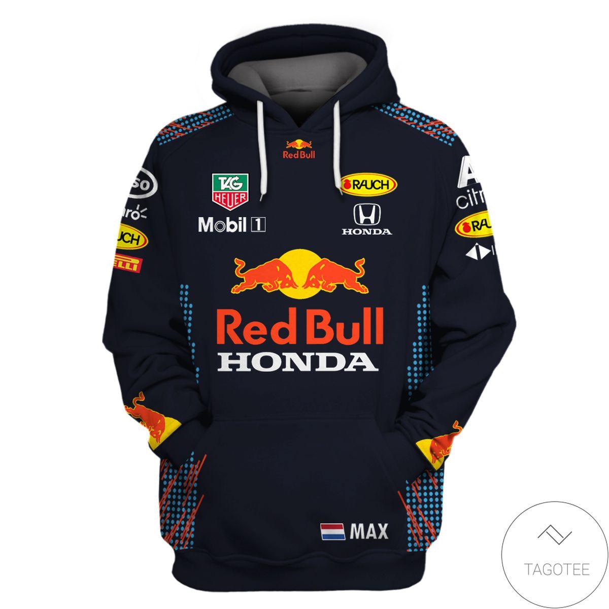 Red Bull Racing F1 3D Hoodie