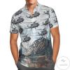 Sikorsky Ch-148 Cyclone (S-92) Hawaiian Shirt