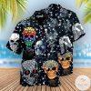 Skull Shiny Diamond Hawaiian Shirt