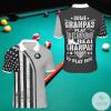 Some Grandpas Play Bingo Real Grandmas Go Play Pool Billiard Polo Shirt