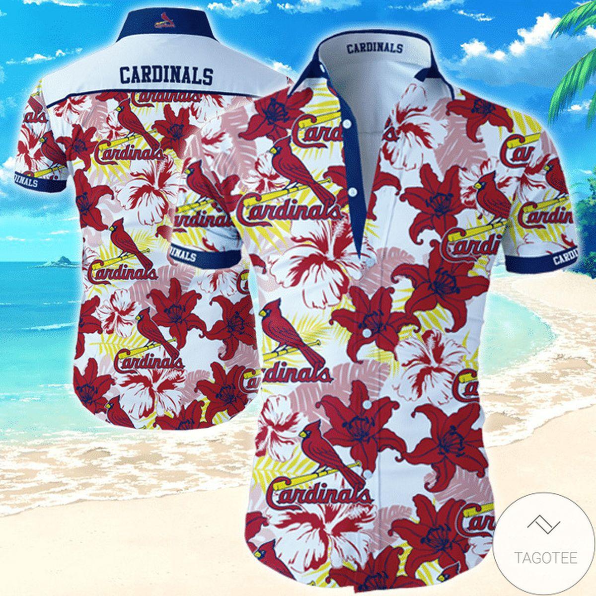 St. Louis Cardinals Hawaiian Shirt