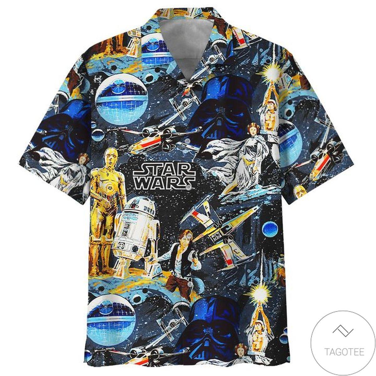 Top Rated Star Wars Amazing Hawaiian Shirt
