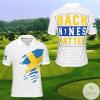 Sweden Back Nines Matter Golf Polo Shirt